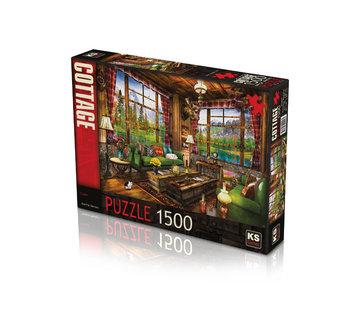 KS Games Chalet Puzzel 1500 Stukjes