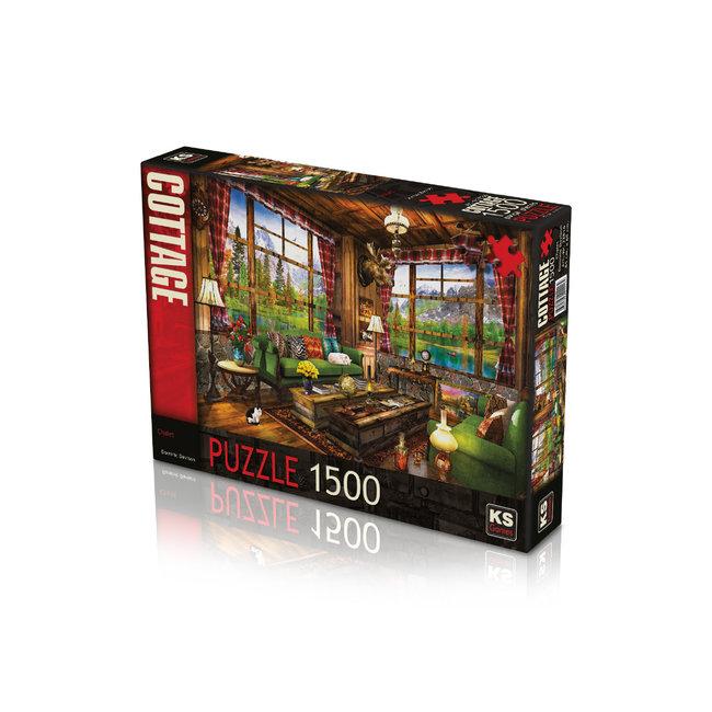 KS Games Chalet 1500 Puzzleteile