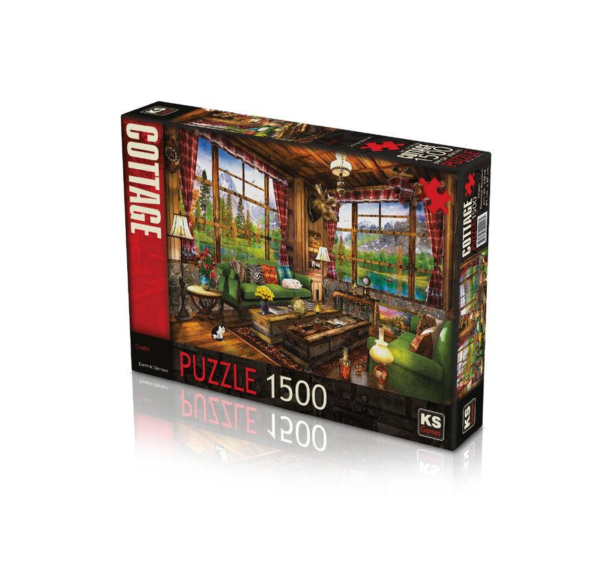 Chalet Puzzel 1500 Stukjes
