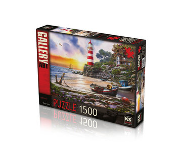 KS Games Lighthouse Puzzel 1500 Stukjes