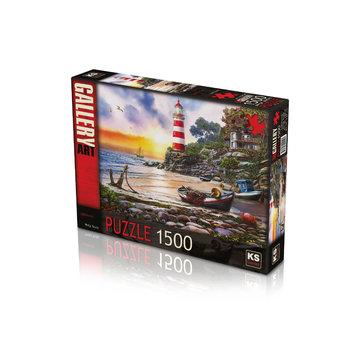 KS Games Lighthouse Puzzle 1500 Pieces
