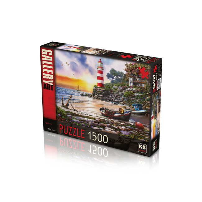 KS Games Leuchtturm Puzzle 1500 Stück
