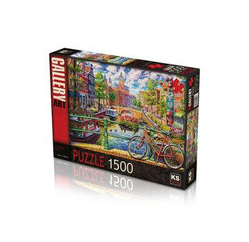 KS Games A Colorful City Puzzel 1500 Stukjes