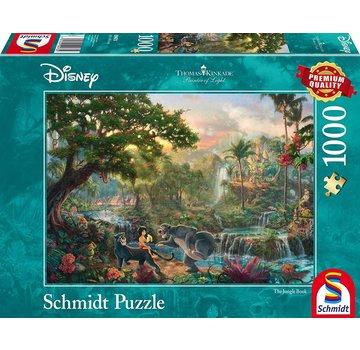 Schmidt Puzzle Disney Jungle Book Puzzel 1000 Stukjes