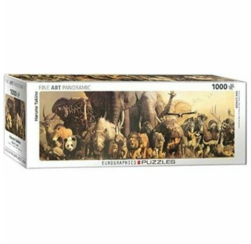 Eurographics Noah's Ark - Haruo Takino Panorama Puzzel 1000 Stukjes