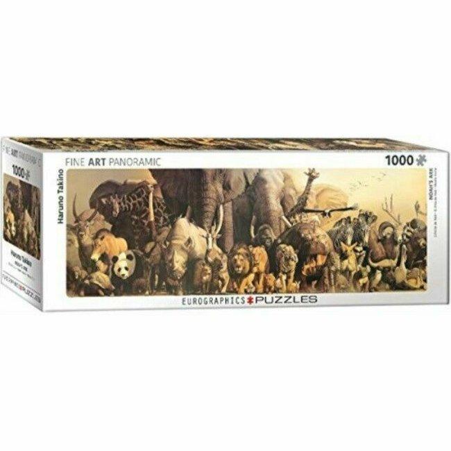 Arche Noah - Haruo Takino Panorama Puzzle 1000 Stück