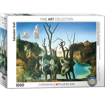 Eurographics Salvador Dali 1000 Puzzle Pieces Elephants