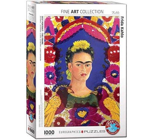 Eurographics Frida Kahlo Puzzel 1000 Stukjes Selfportait