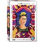 Frida Kahlo Puzzel 1000 Stukjes Selfportait