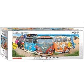Eurographics Volkswagen Bus 1000 Panorama Puzzle Pieces