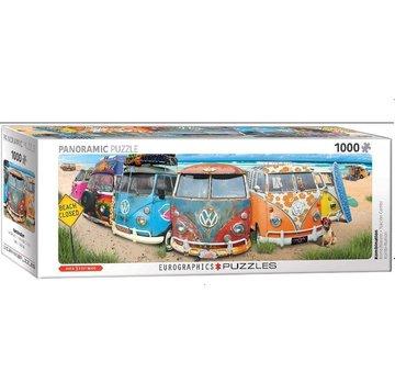 Eurographics Volkswagen Bus Panorama Puzzel 1000 Stukjes