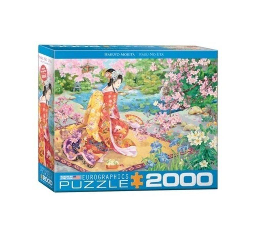 Haru No Uta Puzzel 2000 Stukjes