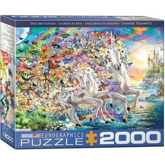 Eurographics Unicorn Fantasy Puzzel 2000 Stukjes