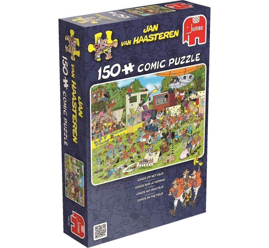 Chaos op het Veld - Jan van Haasteren Puzzel 150 Stukjes