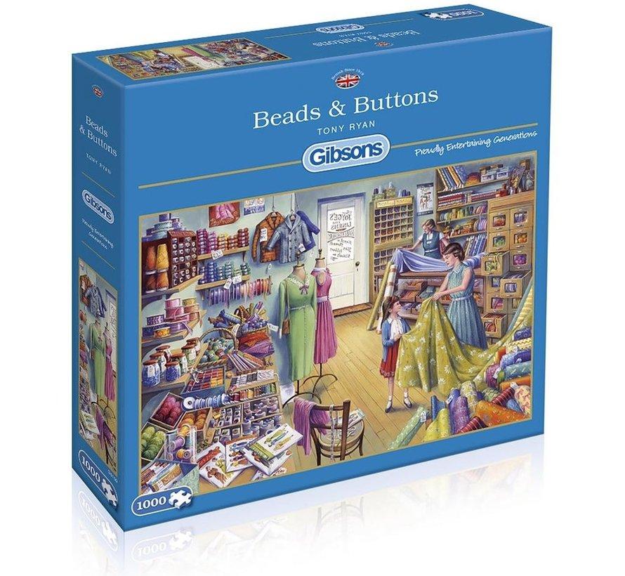Beads & Buttons Puzzel 1000 Stukjes