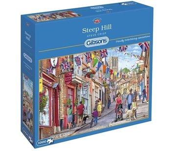 Gibsons Steep Hill Puzzel 1000 Stukjes