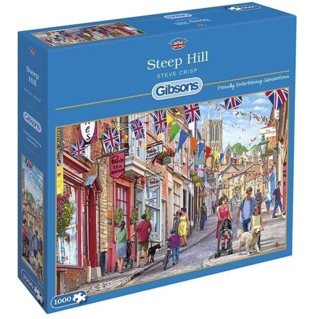 Gibsons Steep Hill 1000 Puzzle Pieces