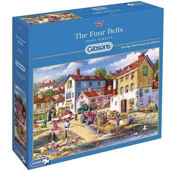 Gibsons The Four Bells 1000 Puzzle Pieces