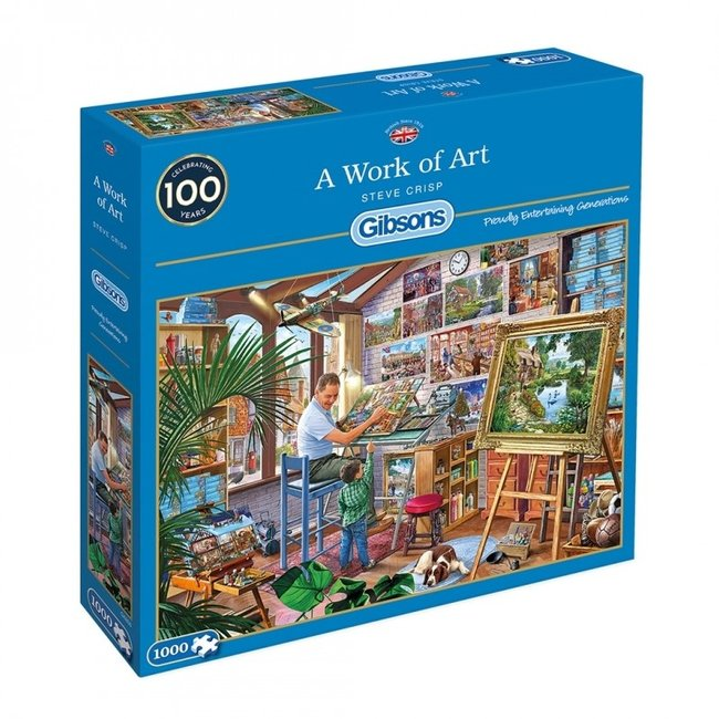 A Work of Art 1000 Puzzle Pieces