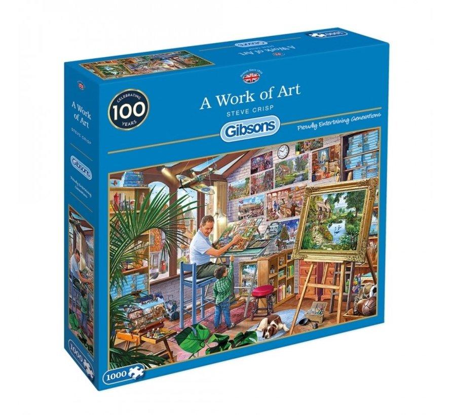 A Work of Art Puzzel 1000 Stukjes