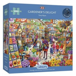 Gibsons Gärtner Delight 1000 Puzzle Pieces