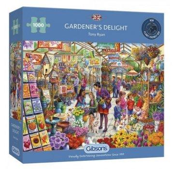 Gibsons Gardener's Delight 1000 Puzzle Pieces