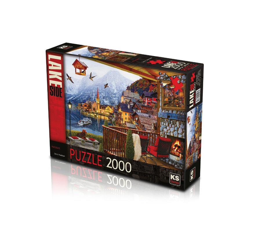 Hallstatt Puzzel 2000 Stukjes