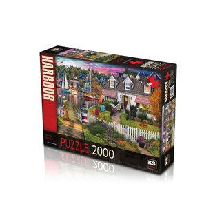 KS Games Charles Harbour Puzzel 2000 Stukjes