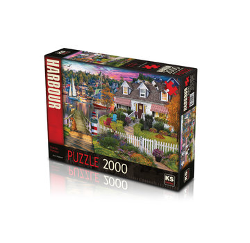 KS Games Charles Harbor 2000 Puzzle Pieces