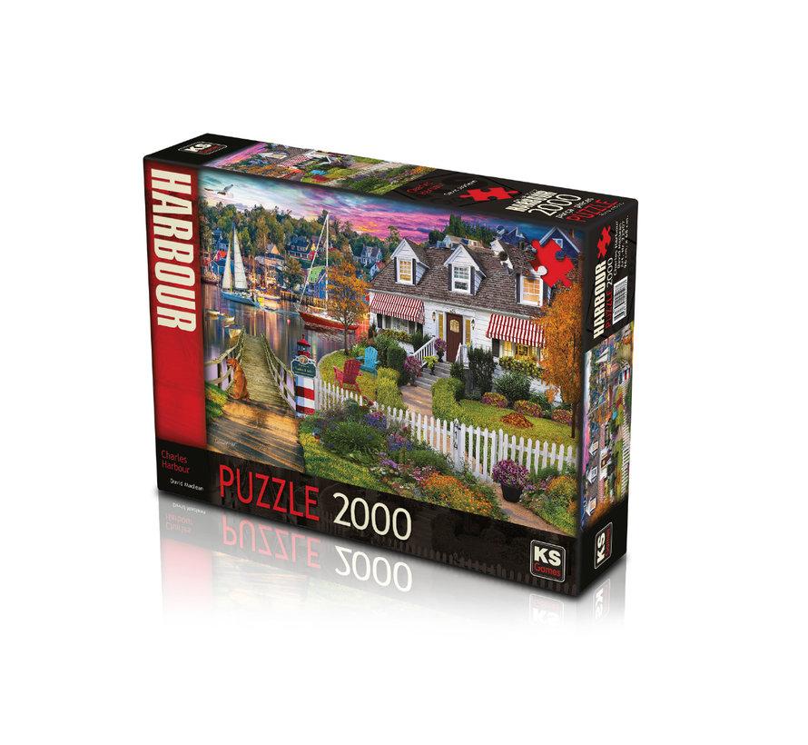 Charles Harbour Puzzel 2000 Stukjes