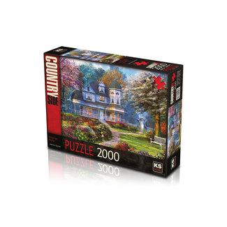 KS Games Victorian Home Puzzel 2000 Stukjes