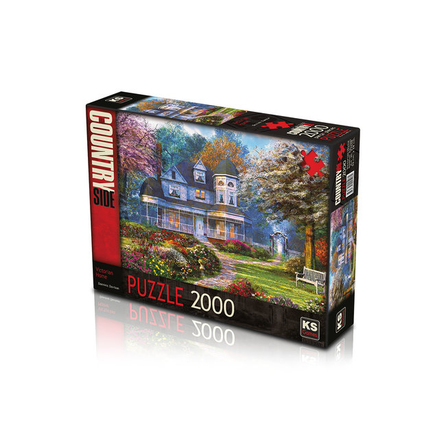 2000 Victorian Home Puzzle Pieces