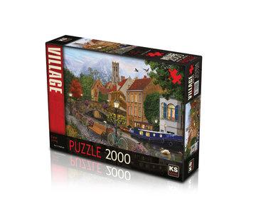 KS Games Canal Living Puzzel 2000 Stukjes