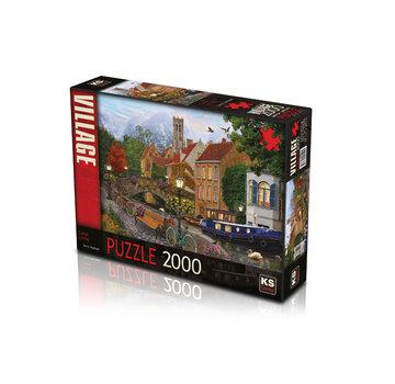 KS Games Canal Living 2000 Puzzle Pieces