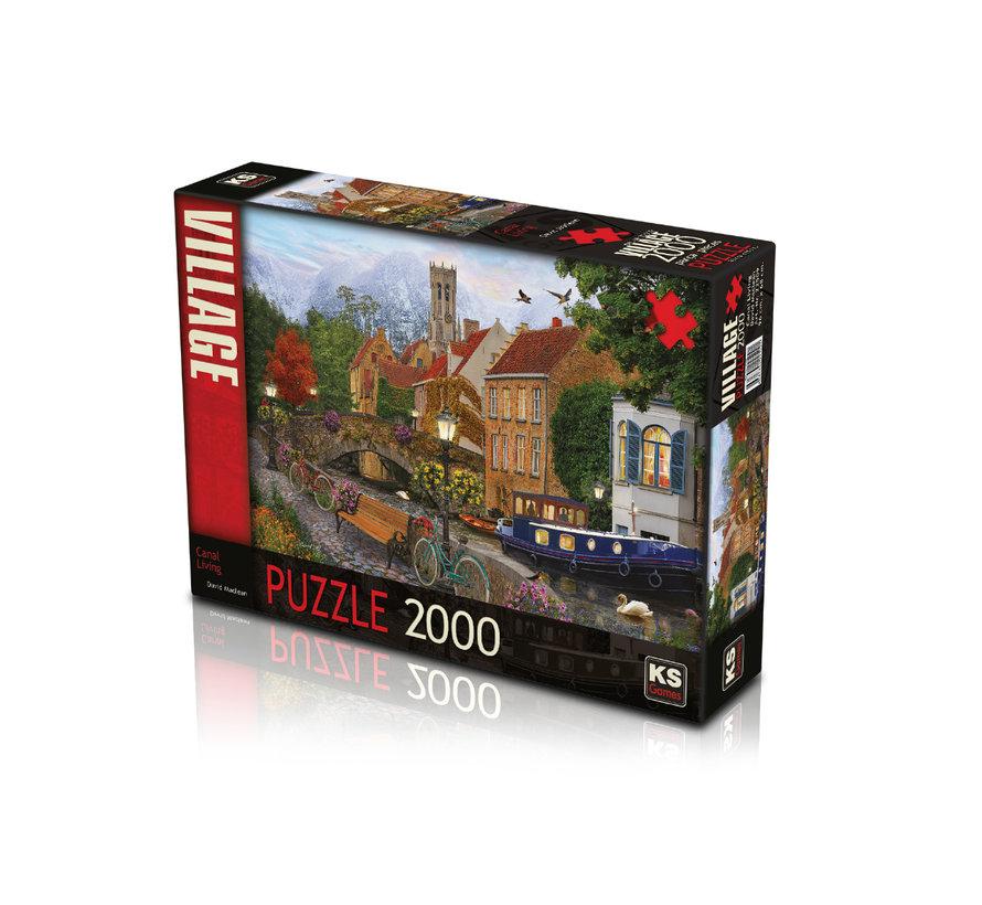 Canal Living Puzzel 2000 Stukjes