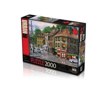 KS Games Paris Streets Puzzel 2000 Stukjes