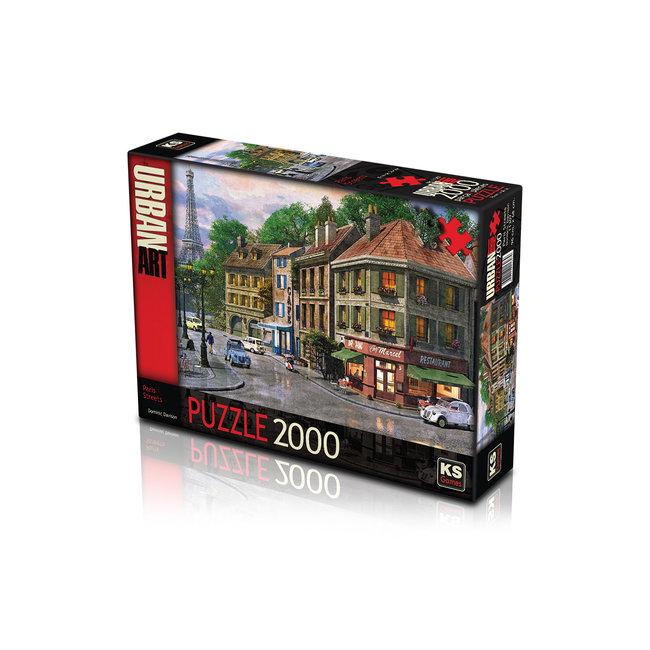 KS Games Paris Streets 2000 Puzzle Pieces