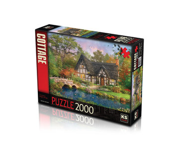 KS Games The Stoney Bridge Cottage Puzzel 2000 Stukjes