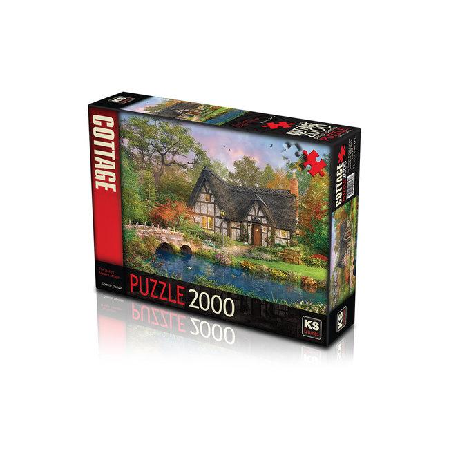 KS Games The Stoney Bridge Cottage Puzzel 2000 Stukjes