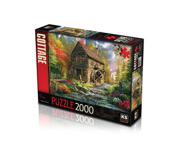 KS Games Mill Cottage Puzzel 2000 Stukjes