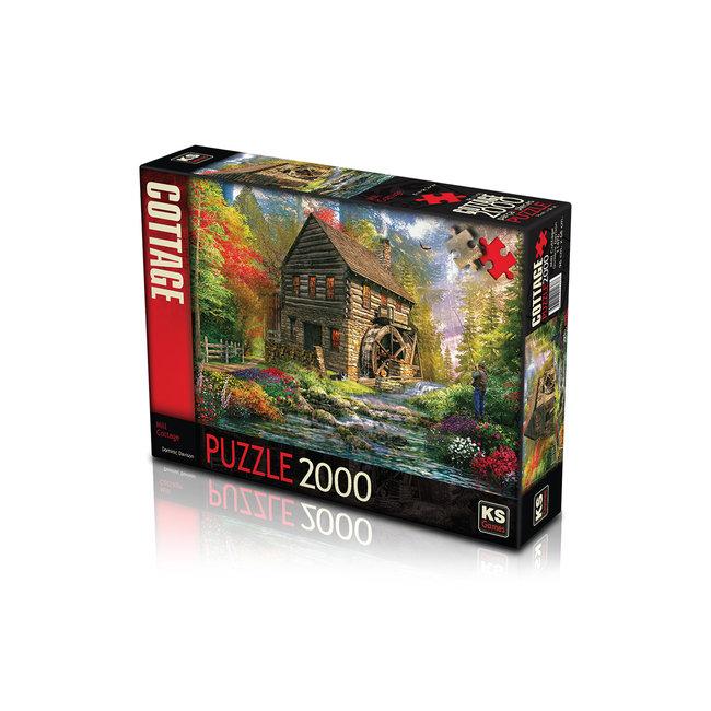 KS Games Mill Cottage Puzzel 2000 Stukjes