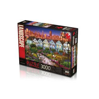 KS Games San Fran 3000 Puzzle Pieces