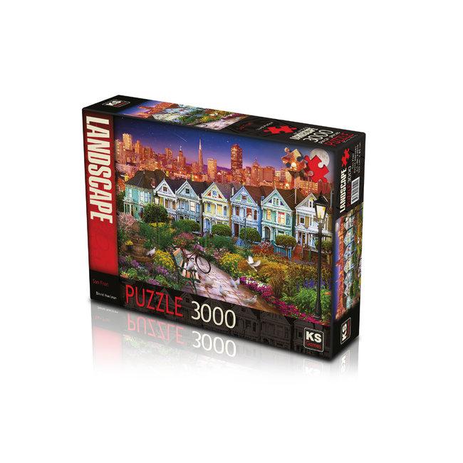 KS Games San Fran Puzzel 3000 Stukjes