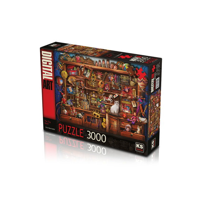KS Games Die Spielzeug-Regal 3000 Puzzleteile