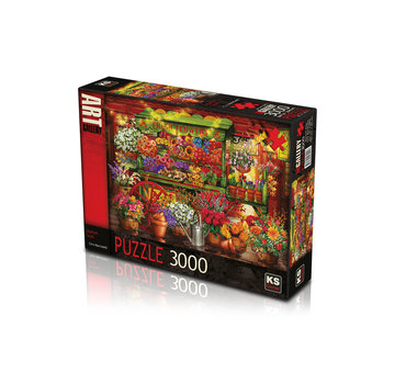 KS Games Market Stall 3000 Puzzle Pieces