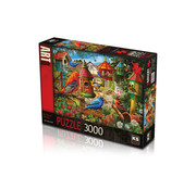 KS Games Bird House Gardens Puzzel 3000 Stukjes