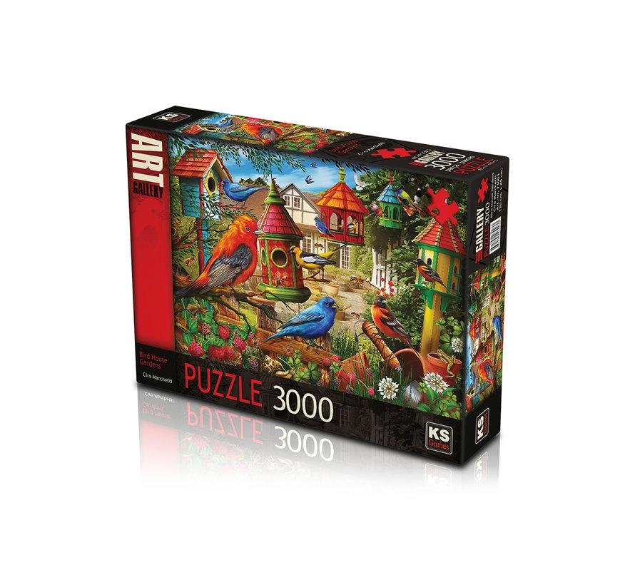 Bird House Gardens Puzzel 3000 Stukjes