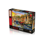KS Games Harbour Lights Puzzel 3000 Stukjes