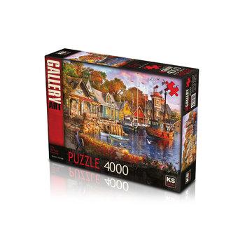 KS Games The Harbour Evening Puzzel 4000 Stukjes