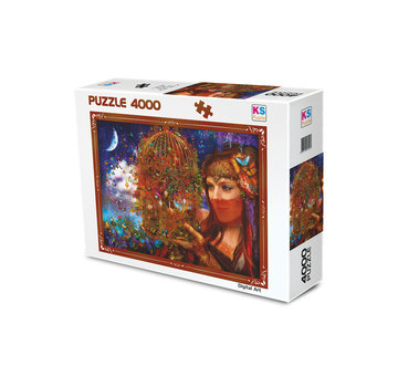 KS Games Her Butterfly Fairytale Puzzle pieces 4000